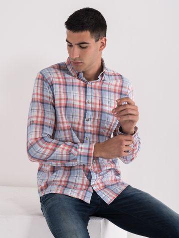 Karirana muška košulja