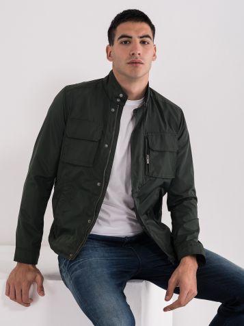Moška jakna z žepi