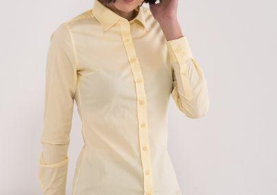 Ženska basic košulja žuta