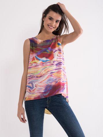 Bluza atraktivnega dezena