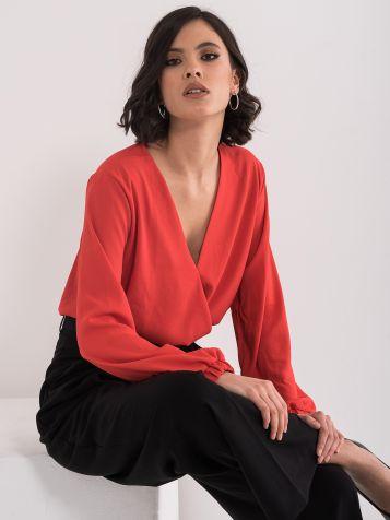 Bluza z V-izrezom