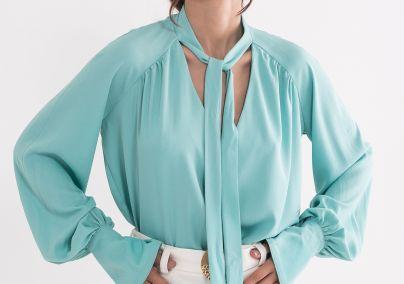 Tirkizna bluza