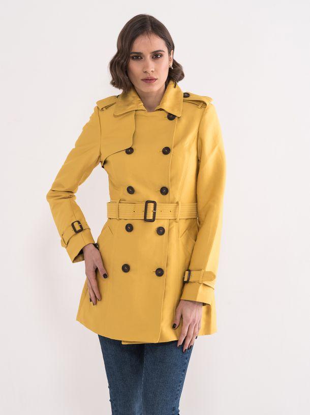 Atraktivan žuti mantil