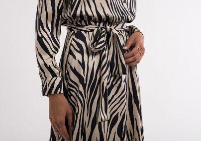 Haljina u zebra printu