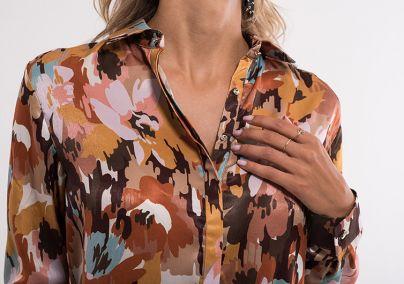 Haljina sa kragnom
