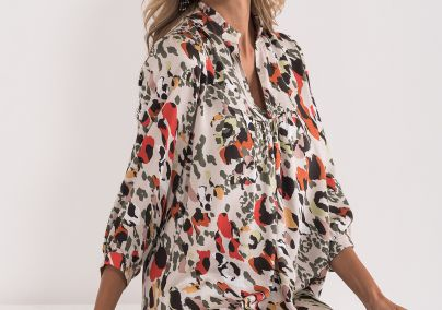 Šarena haljina od viskoze