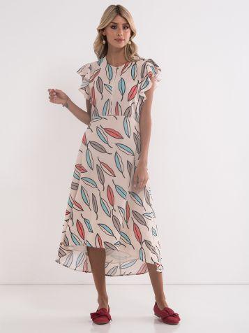 Obleka z gubami