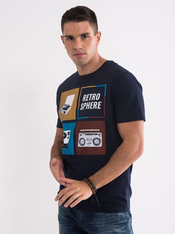 Majica sa retro printom