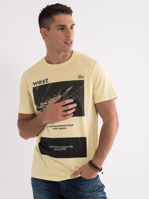 Pamučna majica sa printom