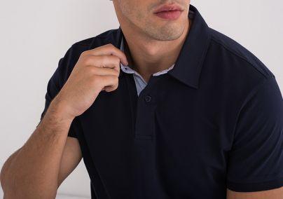 Polo majica teget