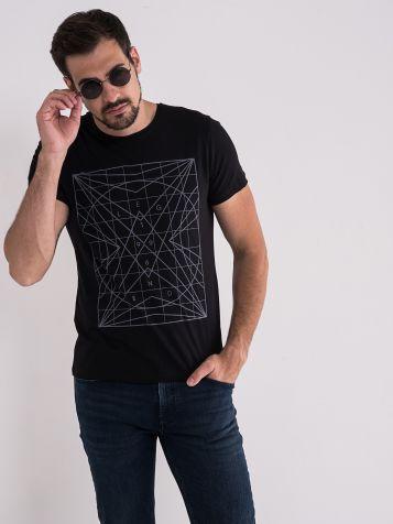 Majica sa geomtrijskim printom