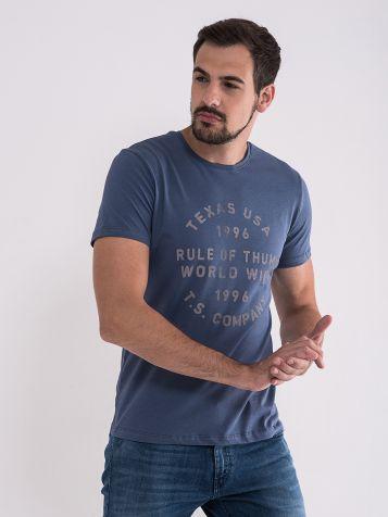 Muška majica u sivoj boji