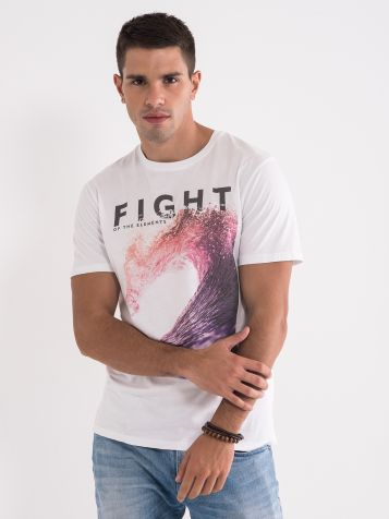 Bombažna moška majica