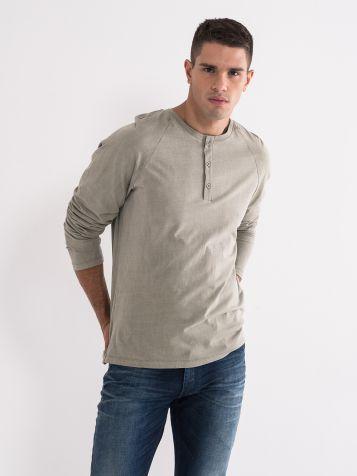 Maslinasto zelena majica