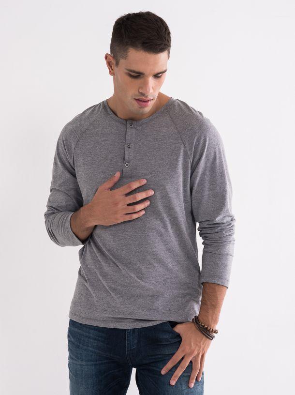 Siva muška majica