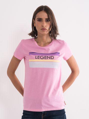 Majica LEGEND rožnata