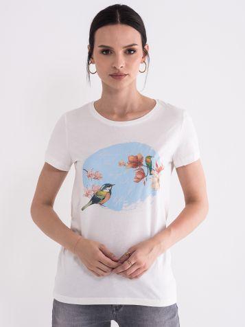 Majica sa letnjim printom