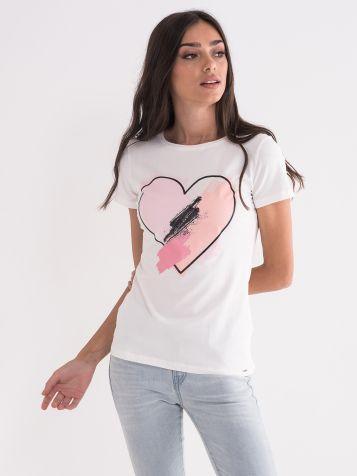 Majica sa srcem