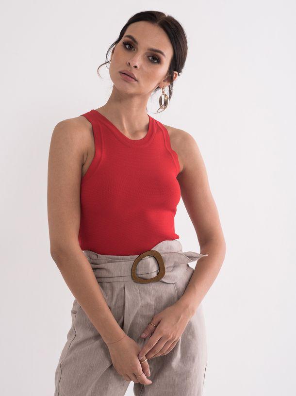 Top majica crvena