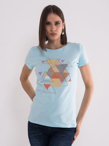 Majica sa geometrjskim printom