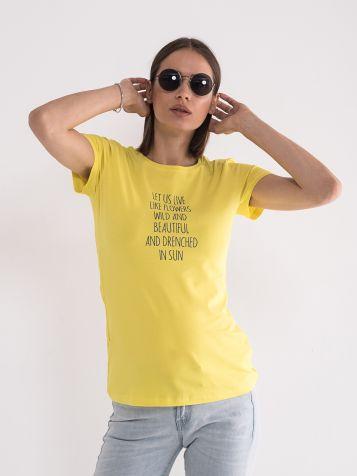 Majica u žutoj boji