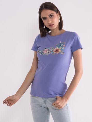 Majica sa cvetnim printom