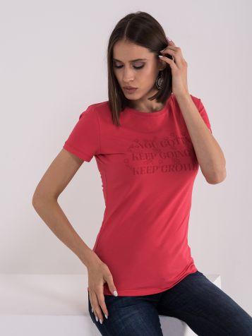 Pamučna crvena majica