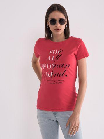 Majica sa motivacionom porukom
