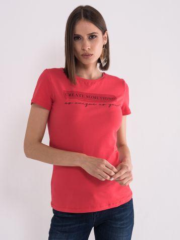 Crvena ženska majica