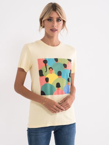 Majica z izrazitim potiskom