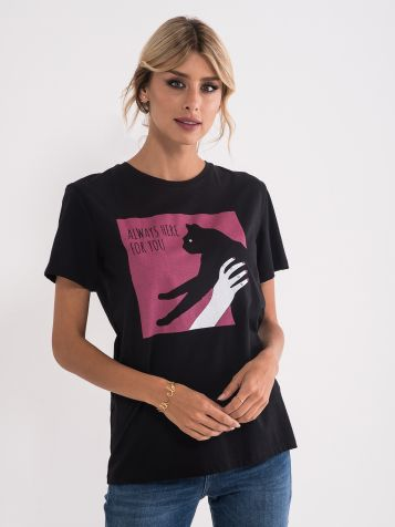 Majica z mačko