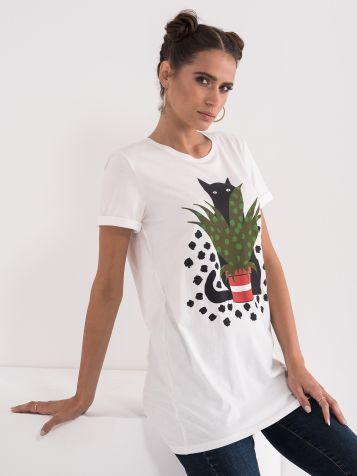 Majica sa mačkom