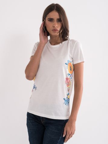 Majica sa romantičnim printom