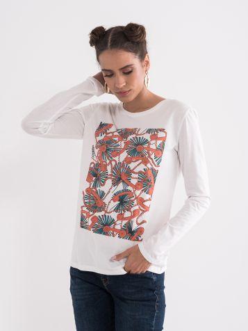 Majica sa atraktivnim printom