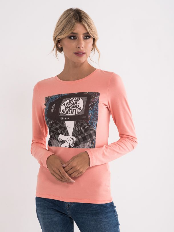 Majica sa šaljivim printom