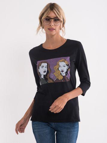 Majica z ilustracijo