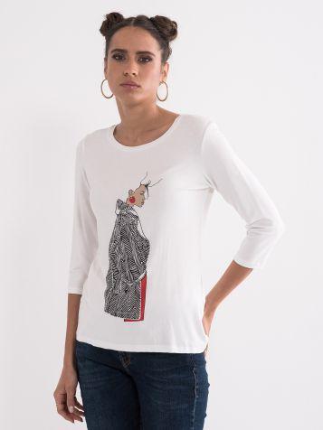 Ženska majica z viskozo