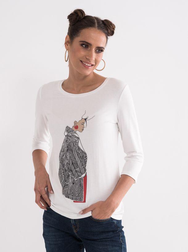 Viskozna ženska majica