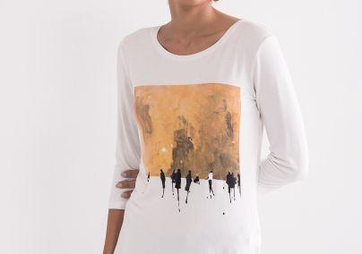 Majica tri četvrt rukava