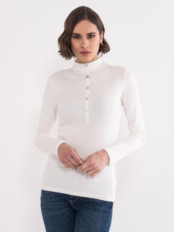 Majica sa polurolkom