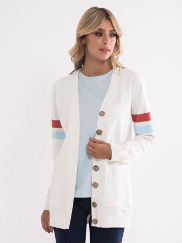Ženski džemper kardigan