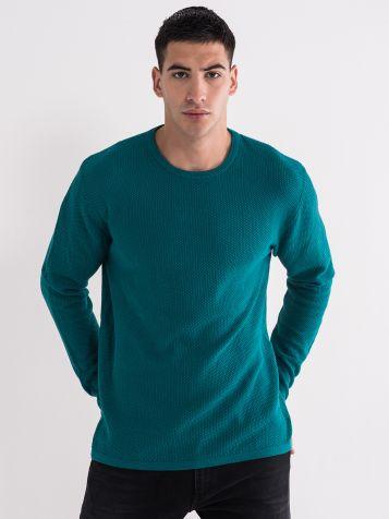 Muški džemper zelene boje