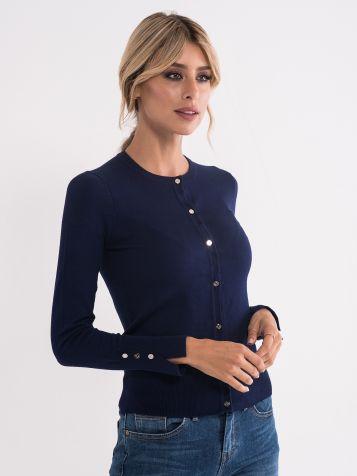 Osnovni pulover na zadrgo