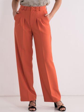 Ženske narandžaste pantalone