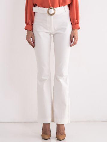 Bele elegantne pantalone