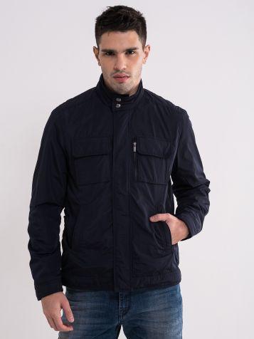 Casual crna muška jakna