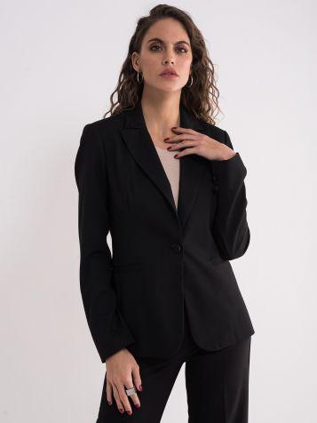 Crni poslovni sako