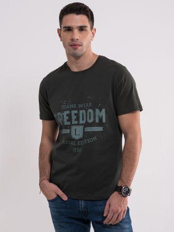 Muška majica sa natpisom