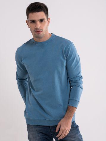 Muški plavi duks
