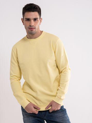 Muški žuti duks